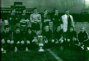 A kupagyőztes csapat